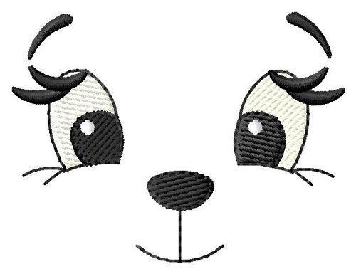 Teddy Bear Face Embroidery Designs, Machine Embroidery