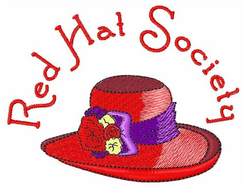 Red Hat Society Svg