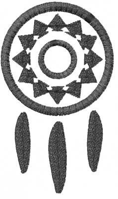 Mediterranean Designs Embroidery Design: DreamCatcher