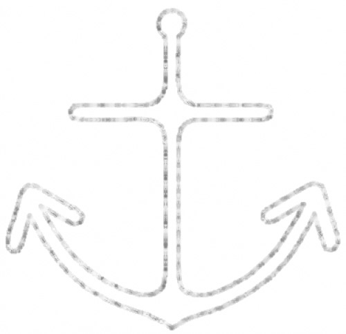Sew Man Embroidery Embroidery Design: Anchor 12 1.38