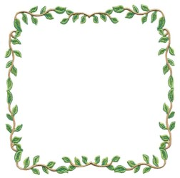 border leaf square designs embroiderydesigns hoop stitchitize embroidery create machine