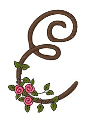 Download Pink Rose Monogram Embroidery design pack by Windmill ...