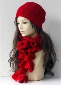 HandCrochet Scarf Hat Gloves China Garmentscarf