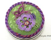 Tatted Butterfly Garden Small Box -The Purple POP