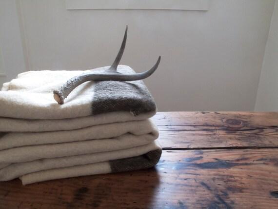 vintage hudson's bay  blanket