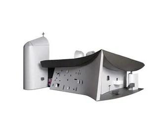 Ronchamp Chapel Paper Model (KIT)