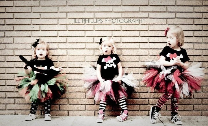 Pirate Tutu Costume Perfect for Halloween or Birthdays