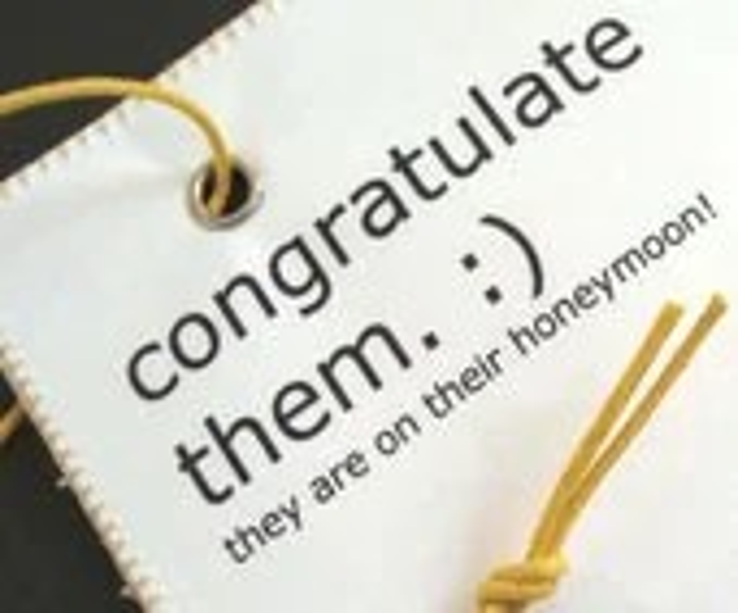 Unique Wedding Gift - Handmade Honeymoon luggage tag. Humorous Wedding Bridal Shower Gift - CestSuperbe