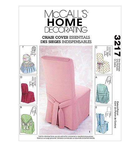 FOLDING CHAIR COVERS PATTERN  Lena Patterns