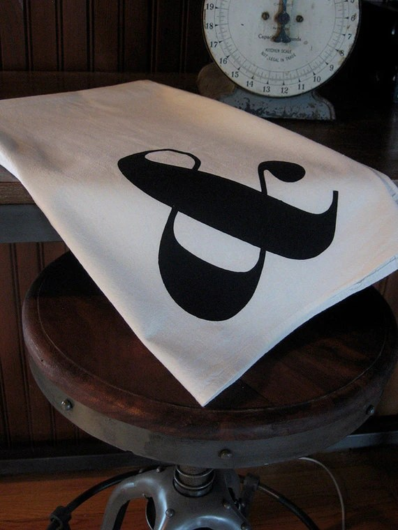 Ampersand Flour Sack Towel