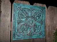 Wall Decor Turquoise | Interior Decorating