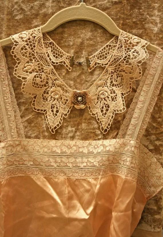 lace collar necklace -SARAH- (ecru)