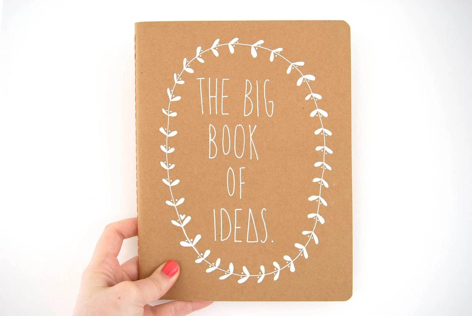 Large Ruled Notebook - The Big Book Of Ideas