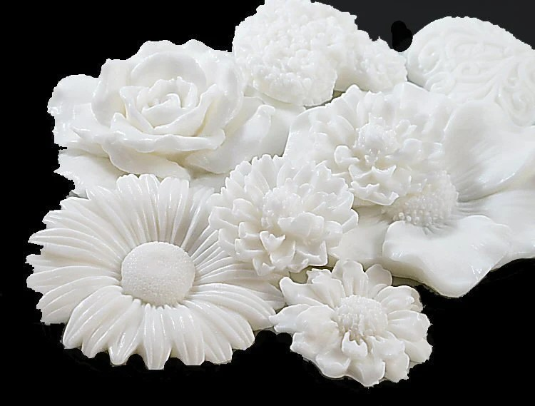 Garden White Soap Collection - Decorative Soap Gift - SoapRhapsody