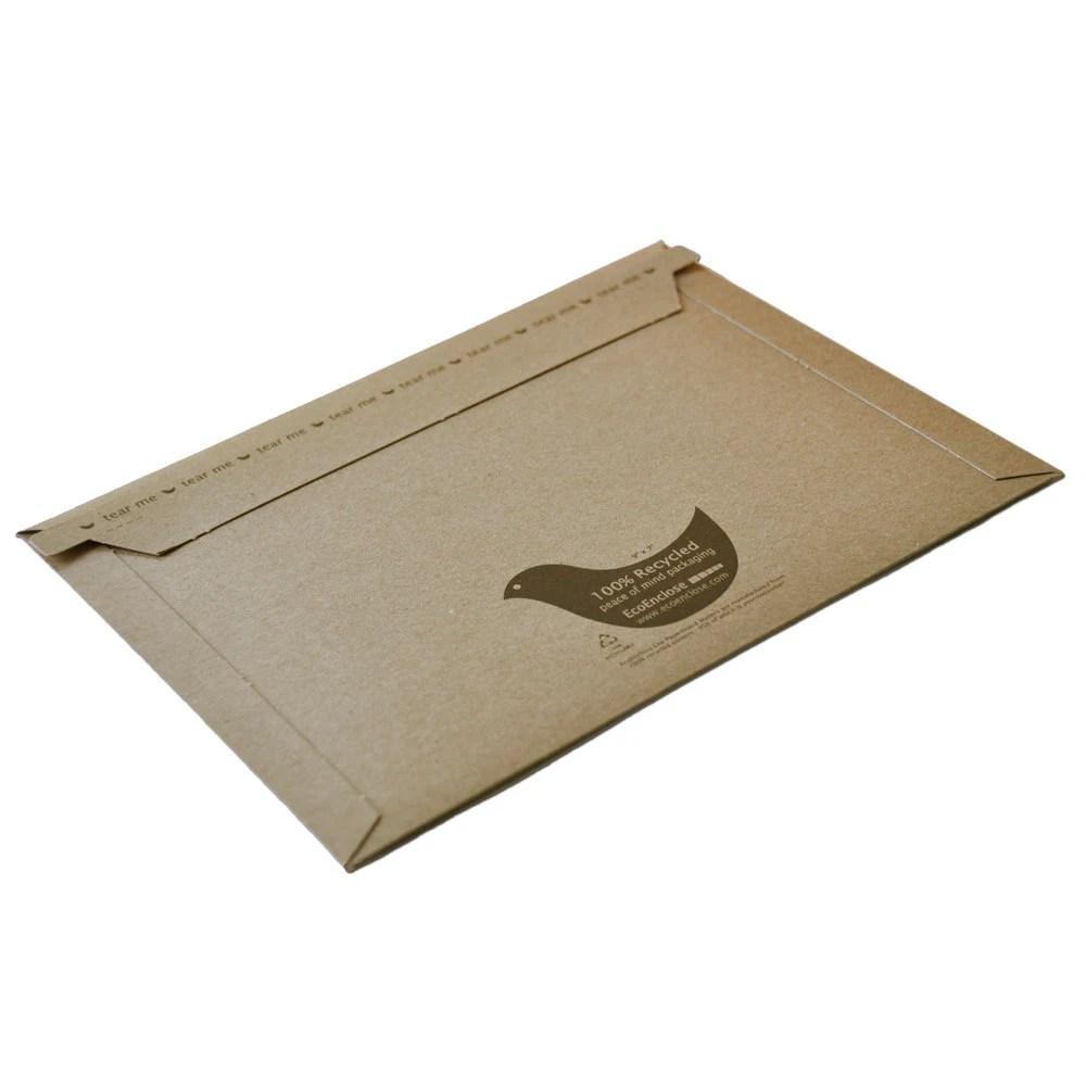 "25 - 15 x 13"" - 100% Recycled Lite Paperboard Mailer - EcoEnclose"