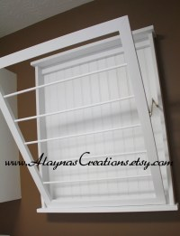 Drying rack laundry wall mounted tv, hydration pack