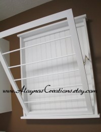 Laundry Room Wall Mount Drying Rack | Simple Home Decoration