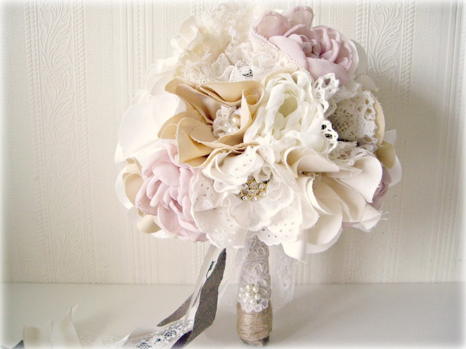 handmade bridal bouquet alternative wedding bouquet shabby chic rustic