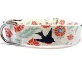 SONGBIRD Dog Collar HANDMADE - GingersWonders