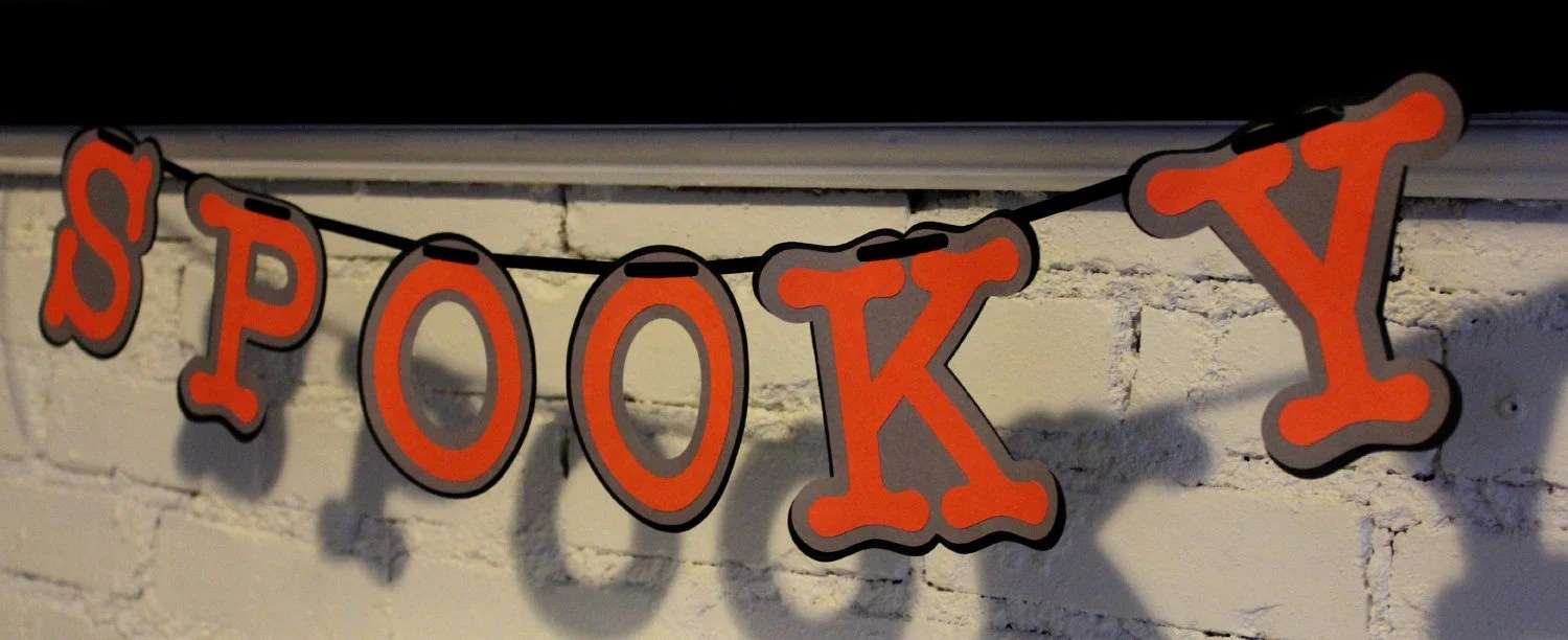 Spooky Halloween banner - Banners by J