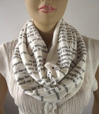 Coryographies: Literary Scarves