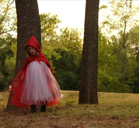 Little Red Riding Hood Tutu Costume 12m-5T - AvaBellesCloset