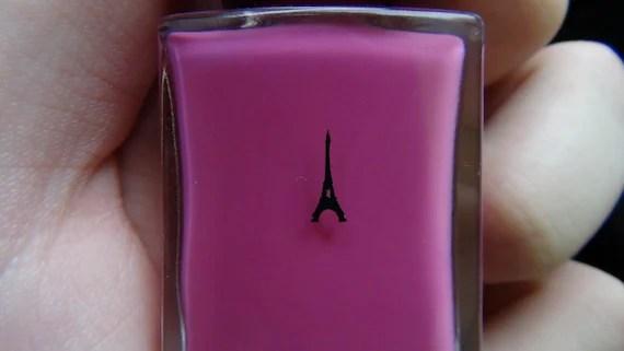 Eiffel Tower nail art decal sticker set of 50