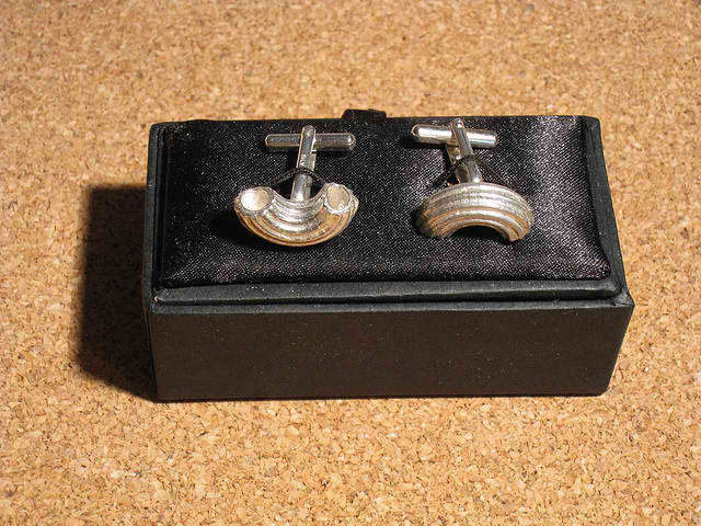Obscurious Rigati Cufflinks Set