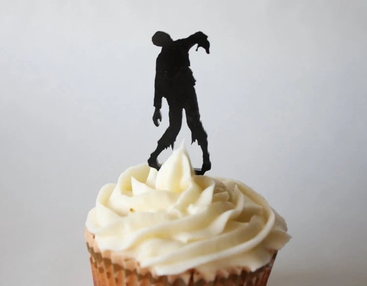 Zombie Cupcake Topper