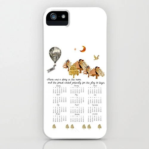 iPhone 5 case, 2013 Calendar, Little Women inspired