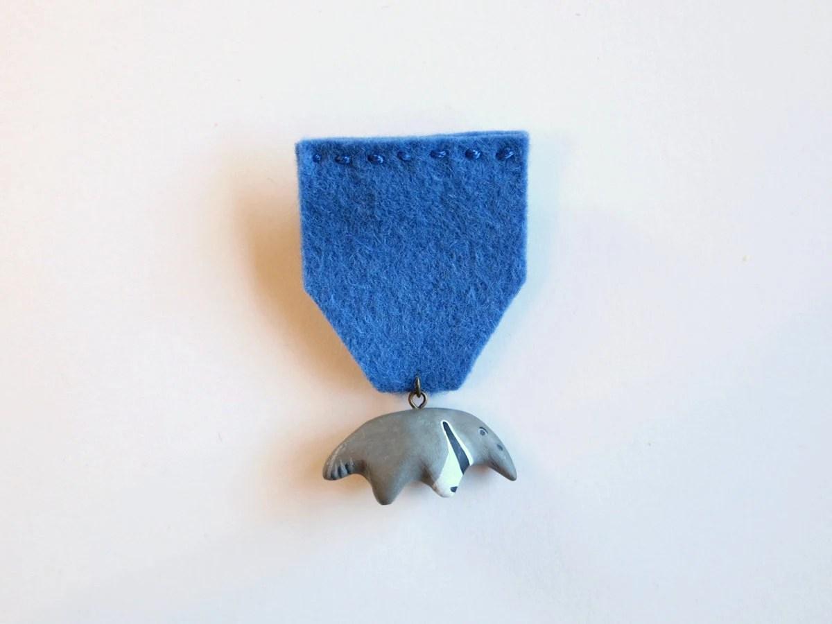 Anteater medal - HandyMaiden