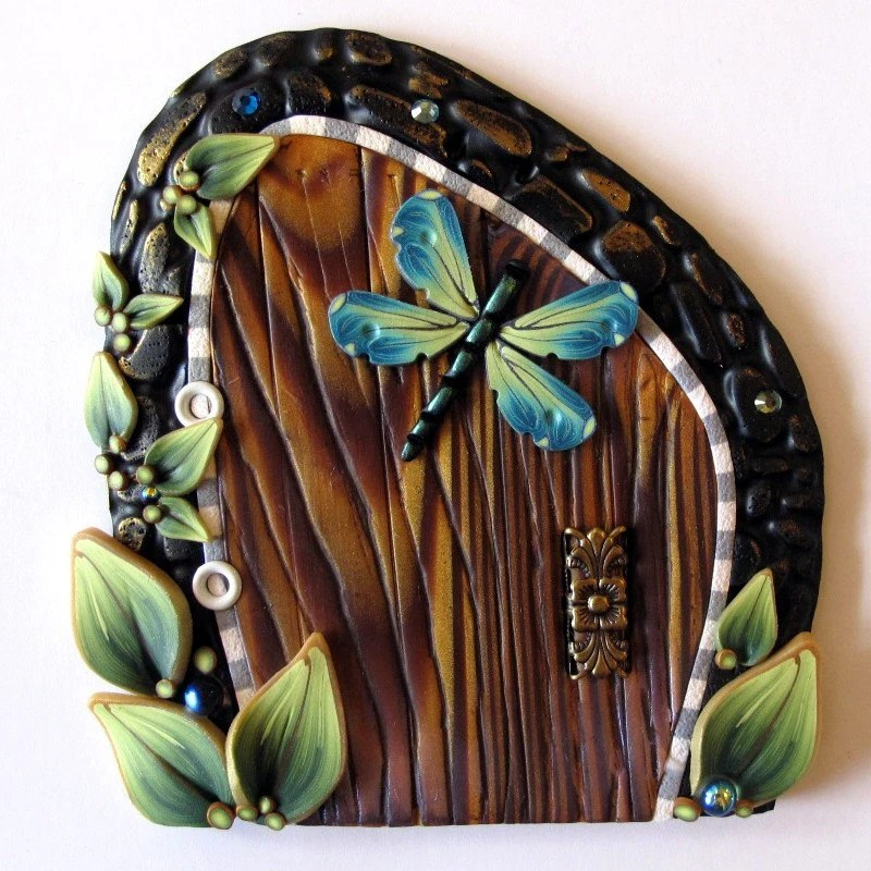 Dragonfly Fairy Door Kids Wall Art Room Decor