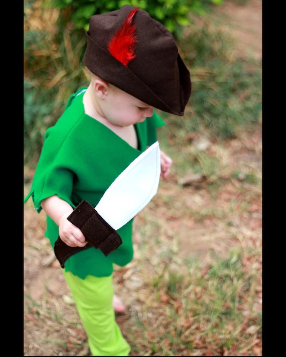Boys Peter Pan Costume 6M-5T - AvaBellesCloset
