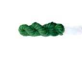 Green Barrette- Yarn Skein Hair Clip- Knitter's Accessory - TheWanderingEwe