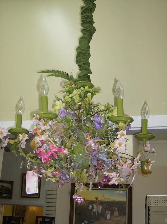 Spring Awakenings Chandelier - FlowerwoodArtistry