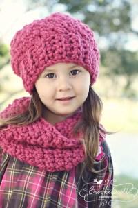 Patterns PDF Crochet Hat Scarf Newborn Infant Toddler Girl ...
