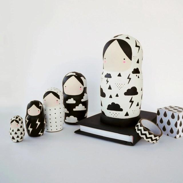 Pretty Things - SketchInc Nesting Dolls