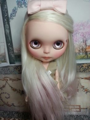 Blythe Doll with Suri Fiber Doll Hair