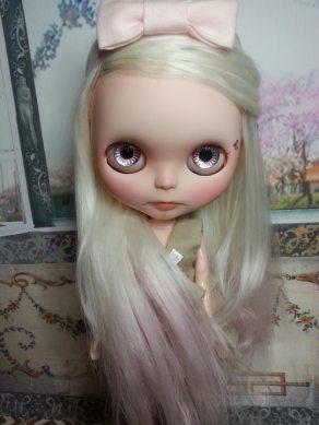 Blythe Doll with Suri Fiber Doll Hair