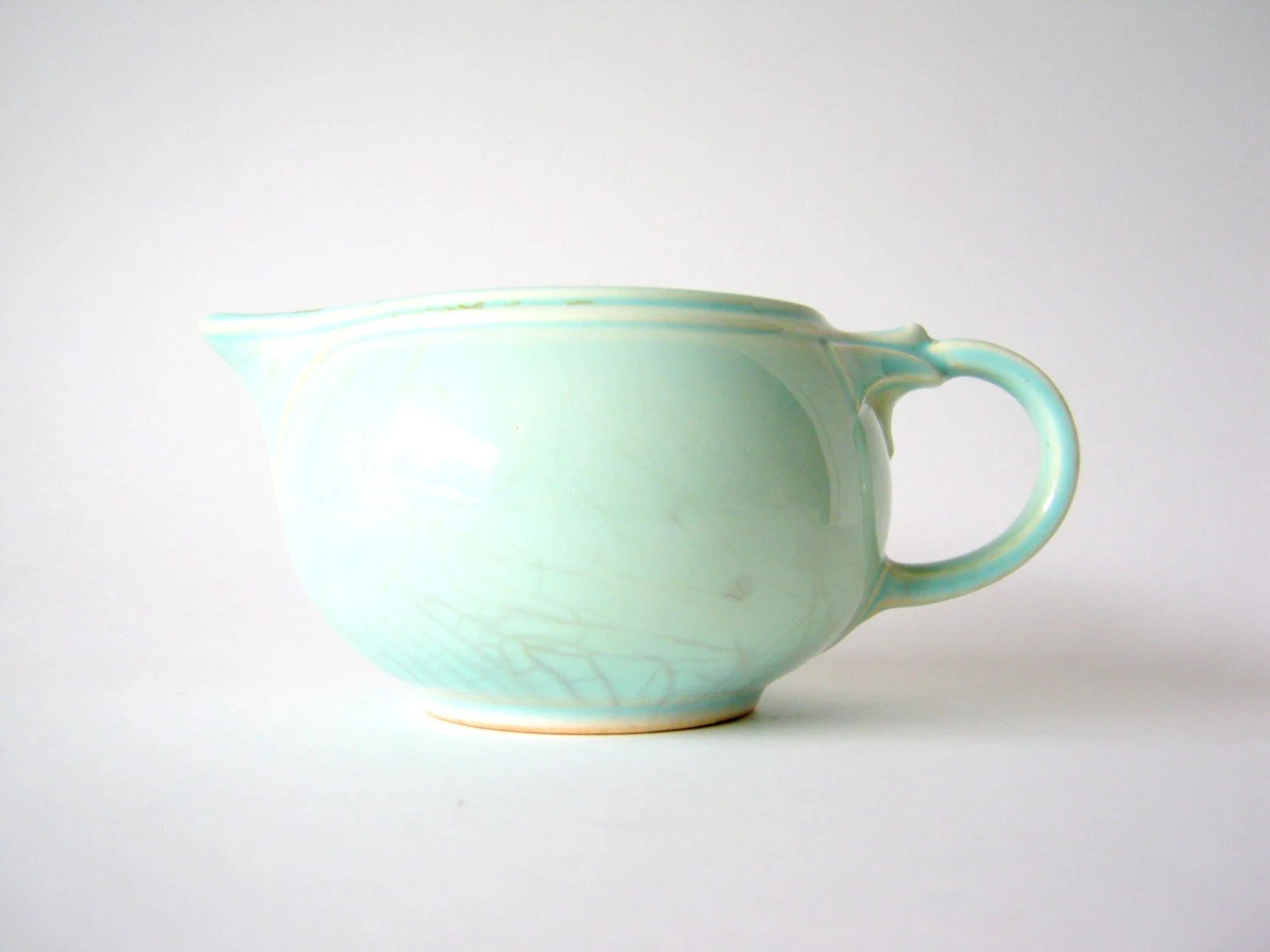 sweet mint green creamer - ObjetsduMonde