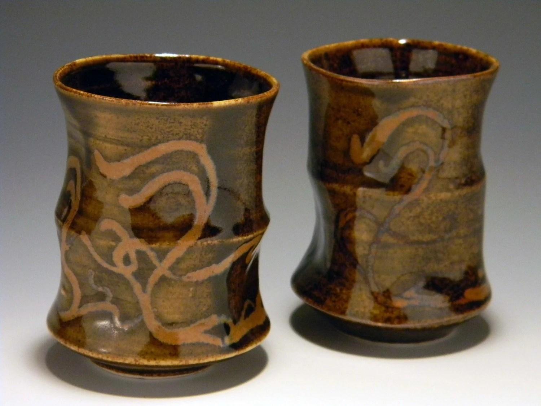 Art Nouveau Tea Cups