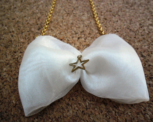 SALE %50 Bow Necklace