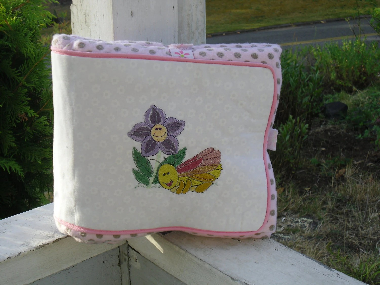 Handmade Quilt With Seperate Changing Pad