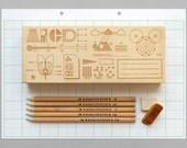 Homework Pencil Box - presentandcorrect