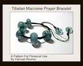 Tibetan Prayer Style Bracelet