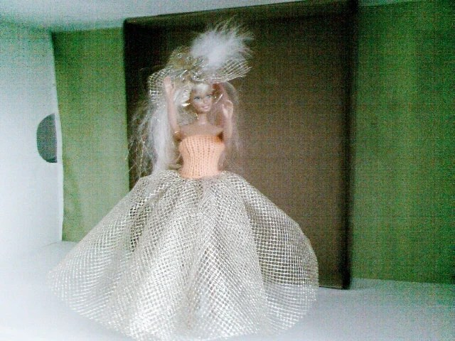 New Handmade  BARBIE DOLL CLOTHES  Ballgown designed and made by nannycheryl  857 x 84