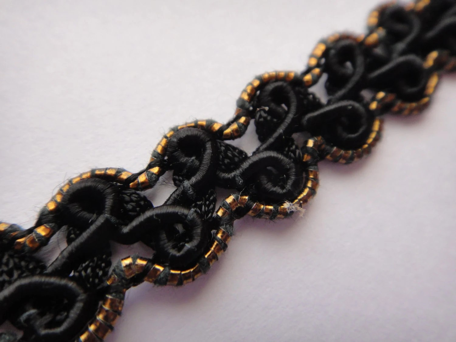 Black and Gold Trim
