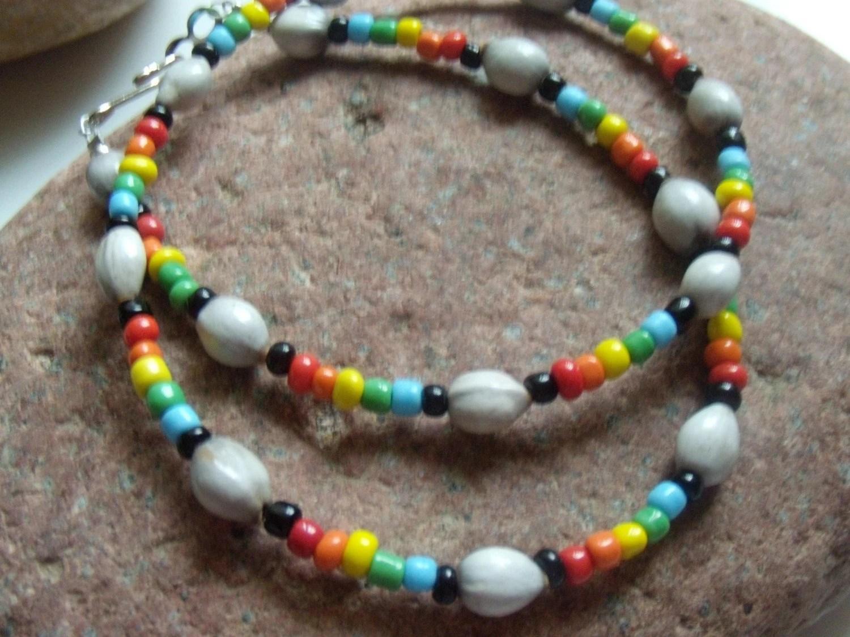 Rainbow Selu necklace