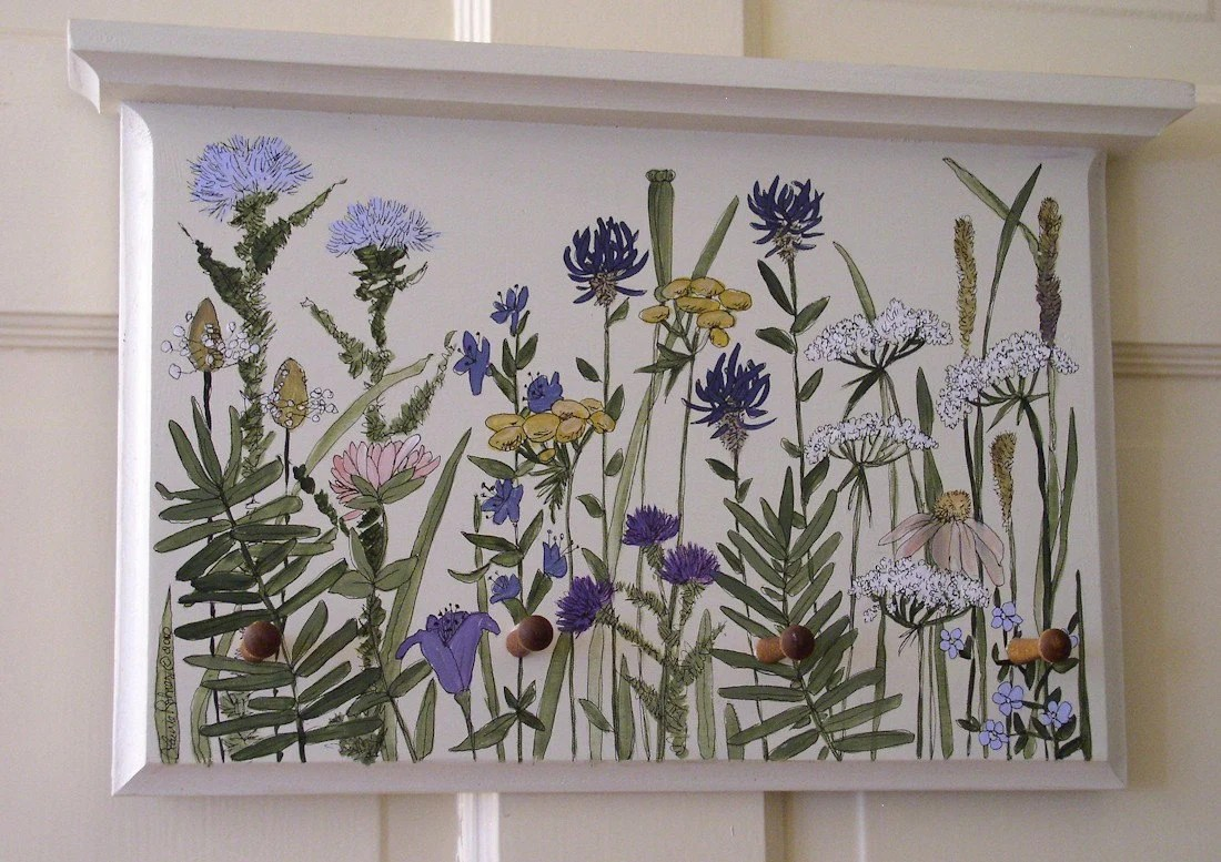 Wildflower Panel Ready to Hang