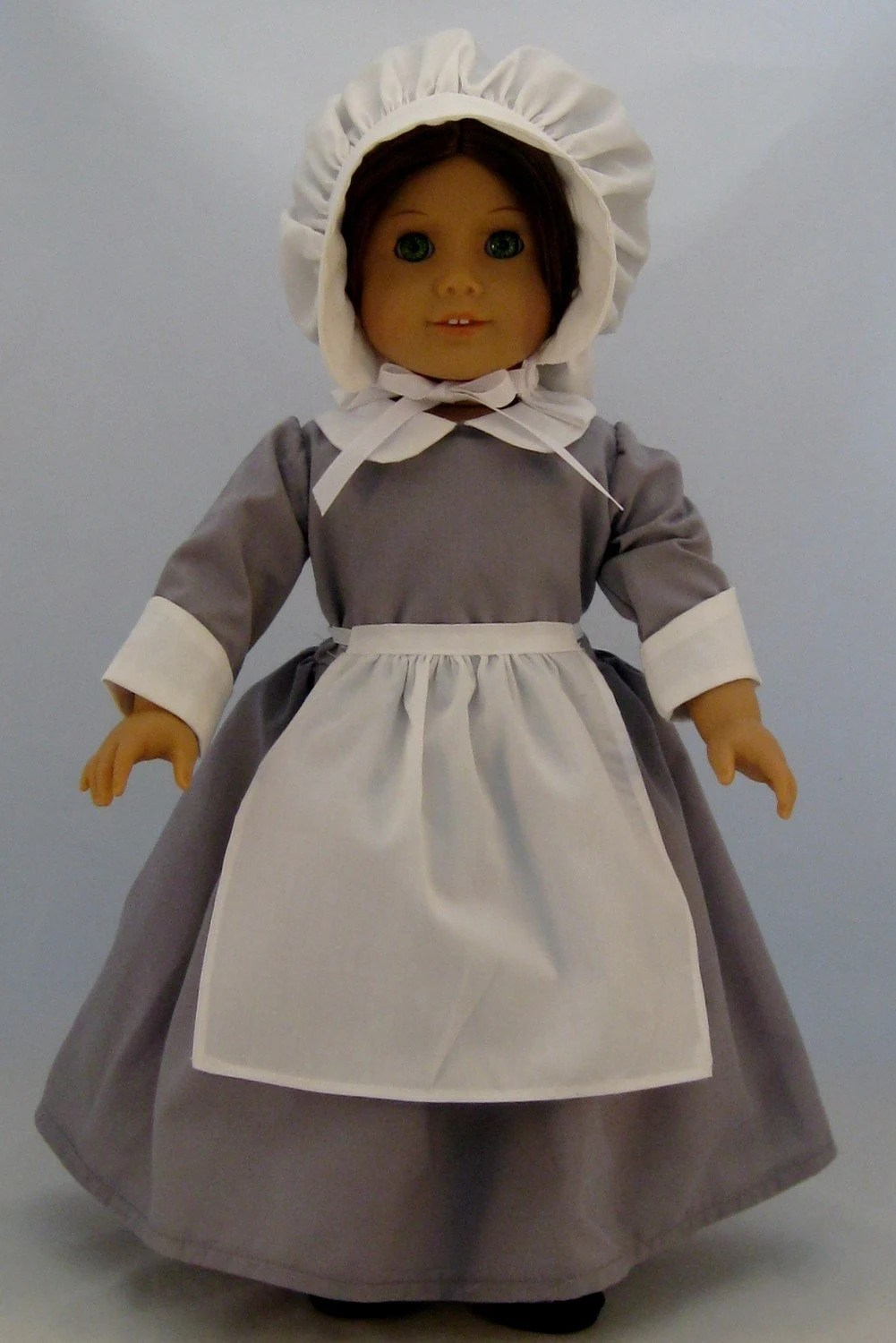 Pilgrim Dress for American Girl or other 18 inch Dolls